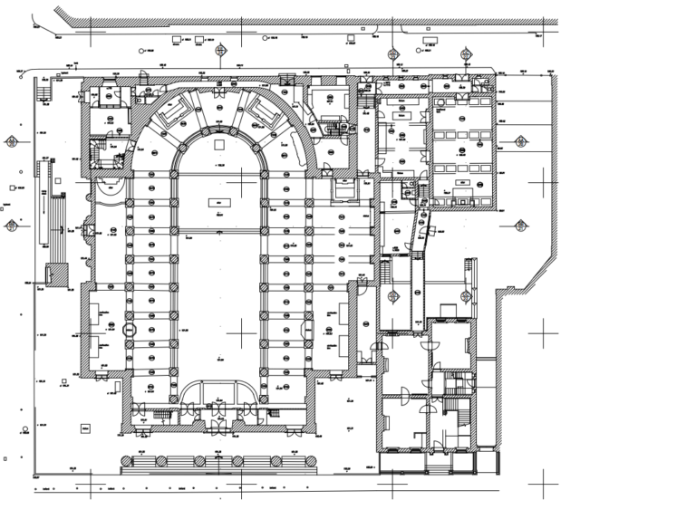 Pro-Cathedral Flr Plan Keltic Surveys